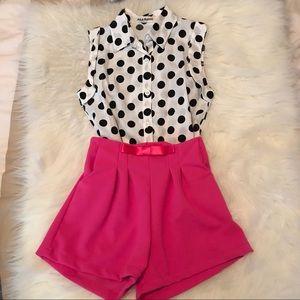 Polka Dot Outfit Set